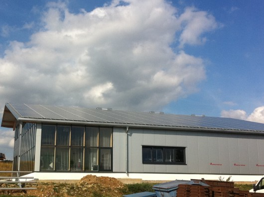 Photovoltaikanlage 64 KWp in Weissach mit SchottSolar Modulen